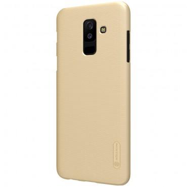 """Prémiový obal """"Super Frosted Shield"""" pro Samsung Galaxy A6 Plus 2018 - zlaté barvy"""