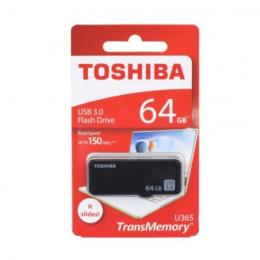 USB 3.0 Toshiba Flash disk 64 GB - černý