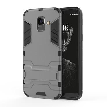 """Robustní kryt """"Impact X"""" pro Samsung Galaxy A6 2018 - šedý"""