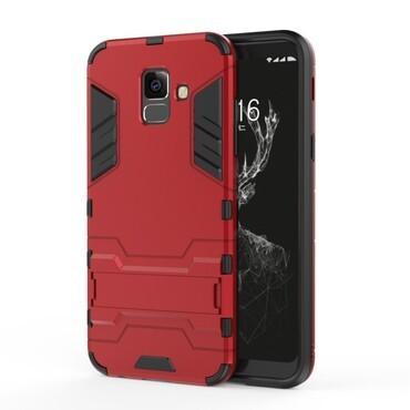 """Robustní obal """"Impact X"""" pro Samsung Galaxy A6 2018 - červený"""