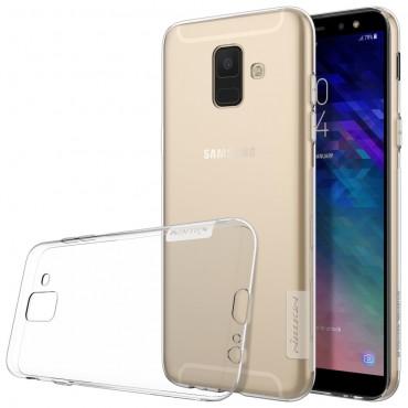 """Prémiový tenký obal """"Nature"""" Samsung Galaxy A6 2018 - průhledný"""