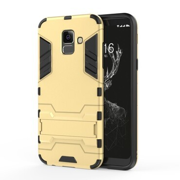 "Robustní obal ""Impact X"" pro Samsung Galaxy A6 Plus 2018 - zlaté barvy"
