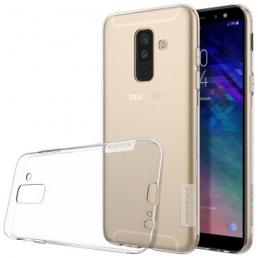 """Prémiový tenký obal """"Nature"""" Samsung Galaxy A6 Plus 2018 - průhledný"""
