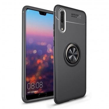 "Kryt TPU gel ""Multi Ring"" pro Huawei P20 Pro - černý"