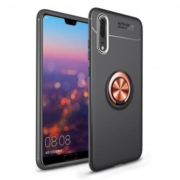 """Kryt TPU gel """"Multi Ring"""" pro Huawei P20 Pro - růžový"""