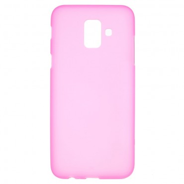 Kryt TPU gel pro Samsung Galaxy A6 2018 - růžové