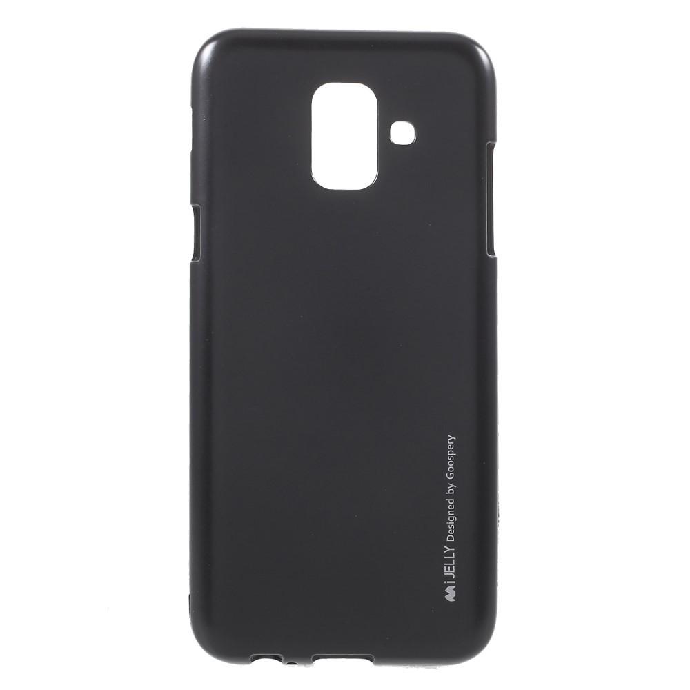 Kryt TPU gel Goospery iJelly Case Samsung Galaxy A6 2018 - černý