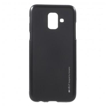 TPU gelový obal Goospery iJelly Case Samsung Galaxy A6 2018 - černý