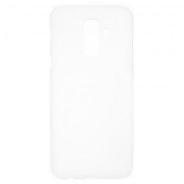 Kryt TPU gel pro Samsung Galaxy A6 Plus 2018 - bílé