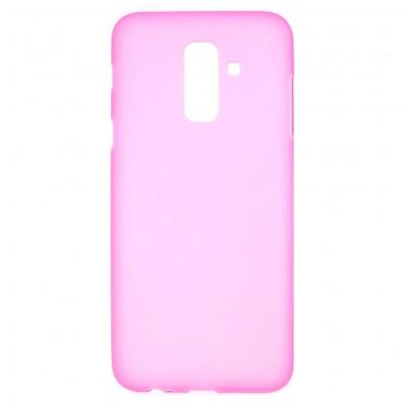 Kryt TPU gel pro Samsung Galaxy A6 Plus 2018 - růžové