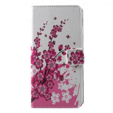 "Módní pouzdro ""Flower Bloom"" pro Samsung Galaxy A6 Plus 2018"