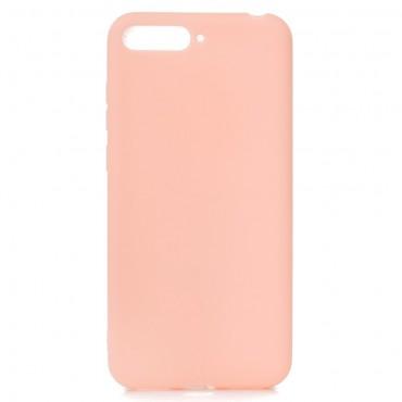 TPU gelový obal pro Huawei Y6 2018 / Honor 7A - růžový