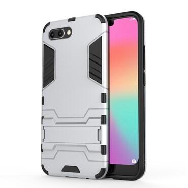 "Robustní kryt ""Impact X"" pro Huawei Honor 10 - stříbrné barvy"