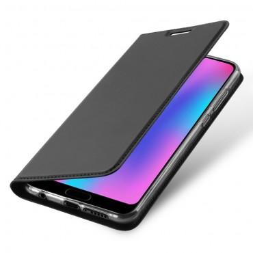 """Módní pouzdro """"Skin"""" pro Huawei Honor 10 z umělé kůže - černé"""