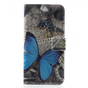 """Módní pouzdro """"Blue Buttefly"""" pro Huawei Honor 10"""