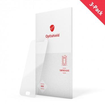 Balení 3 kusů prémiových ochranných skel Optishield Pro pro Xiaomi Redmi 5A