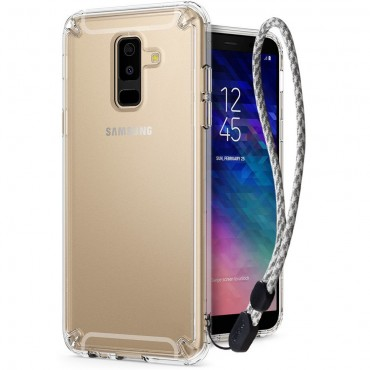 "Kryt Ringke ""Fusion"" pro Samsung Galaxy A6 2018 - crystal view"