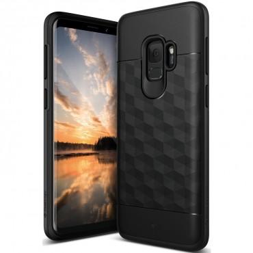 Kryt Caseology Parallax pro Samsung Galaxy S9 - black