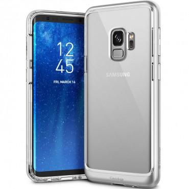 Kryt Caseology Skyfall pro Samsung Galaxy S9 - silver