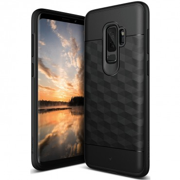 Kryt Caseology Parallax pro Samsung Galaxy S9 Plus - black