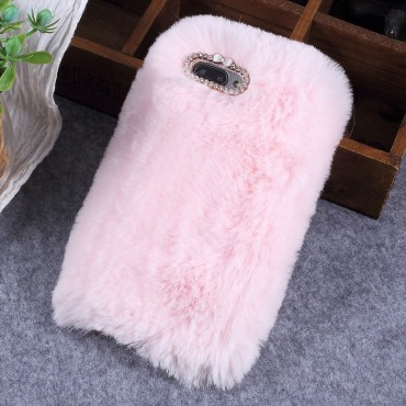 """Módní kryt """"Fluffy"""" pro Huawei Honor 10 - růžové"""