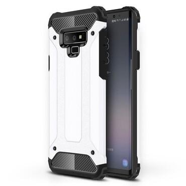 """Robustní obal """"Rock"""" pro Samsung Galaxy Note 9 - bílý"""