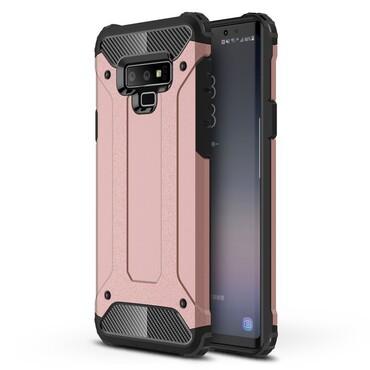 """Robustní obal """"Rock"""" pro Samsung Galaxy Note 9 - růžový"""