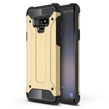 """Robustní obal """"Rock"""" pro Samsung Galaxy Note 9 - zlaté barvy"""