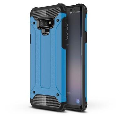 """Robustní obal """"Rock"""" pro Samsung Galaxy Note 9 - modrý"""