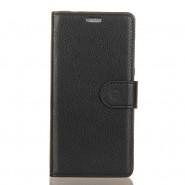 """Elegantní pouzdro """"Litchi"""" pro Samsung Galaxy Note 9 - černé"""