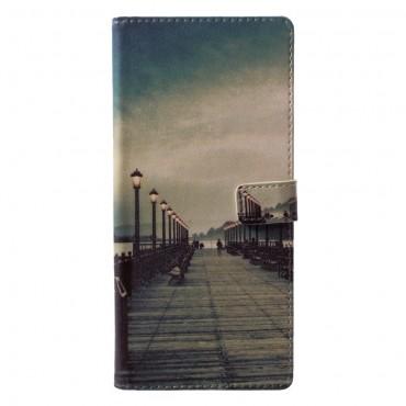 """Módní kryt """"Empty Pier"""" pro Samsung Galaxy Note 9"""
