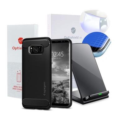 4Pack pro nabíjení a ochranu pro Samsung Galaxy S8 Plus