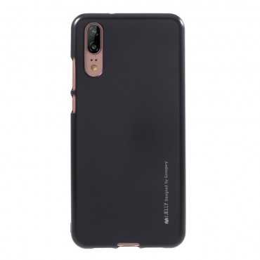 Kryt TPU gel Goospery iJelly Case Huawei P Smart - černý