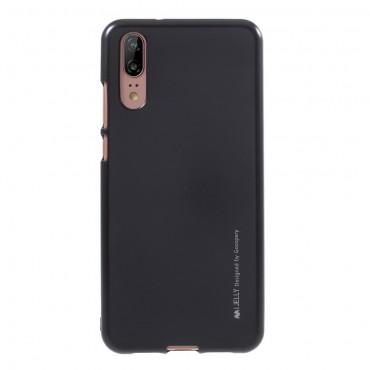 Kryt TPU gel Goospery iJelly Case Huawei Y6 2018 / Honor 7A - černý