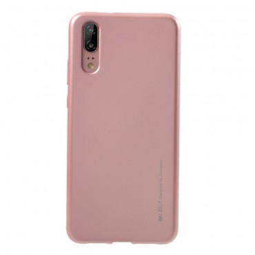 TPU gelový obal Goospery iJelly Case Huawei Y6 2018 / Honor 7A - růžový