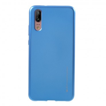 Kryt TPU gel Goospery iJelly Case pro Huawei Y6 2018 / Honor 7A - modrý