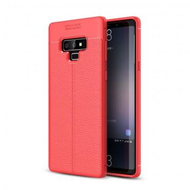 "Kryt TPU gel ""Gentry"" pro Samsung Galaxy Note 9 - červené"