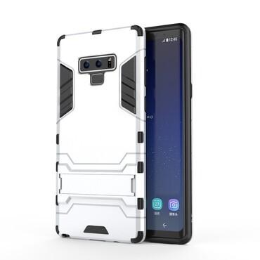 """Robustní kryt """"Impact X"""" pro Samsung Galaxy Note 9 - ve stříbrné barvě"""