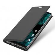 """Módní pouzdro """"Skin"""" pro Samsung Galaxy Note 9 z umělé kůže - šedý"""