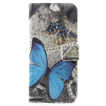 "Módní pouzdro ""Blue Butterfly"" pro Huawei Y6 2018 / Honor 7A"