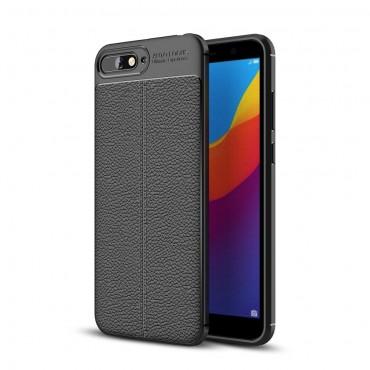 """Kryt TPU gel """"Gentry"""" pro Huawei Y6 2018 / Honor 7A - černý"""