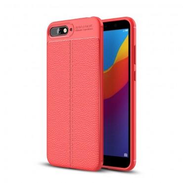 "Kryt TPU gel ""Gentry"" pro Huawei Y6 2018 / Honor 7A - červené"