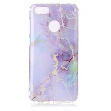 """Módní obal """"Marble"""" pro Huawei P9 Lite Mini - růžový"""