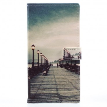 """Módní pouzdro """"Empty Pier"""" pro Huawei P9 Lite Mini"""