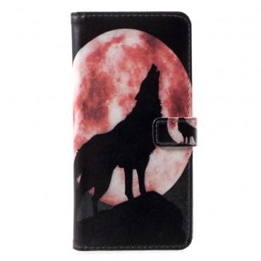 "Módní pouzdro ""Howling Wolf"" pro Huawei P Smart"