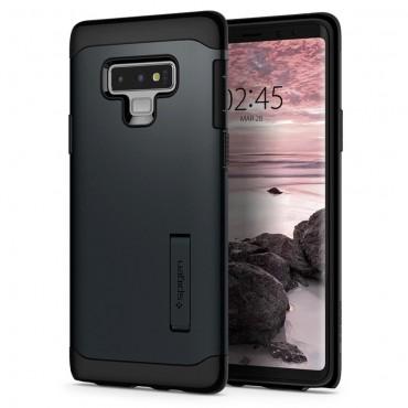 """Obal Spigen """"Slim Armor"""" pro Samsung Galaxy Note 9 - kovově černý"""