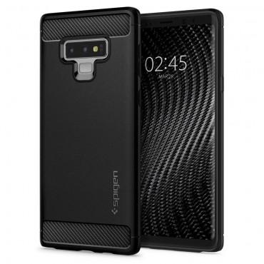 "Obal Spigen ""Rugged Armor"" pro Samsung Galaxy Note 9 - černý"