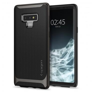 """Obal Spigen """"Neo Hybrid"""" pro Samsung Galaxy Note 9 - kovově černý"""