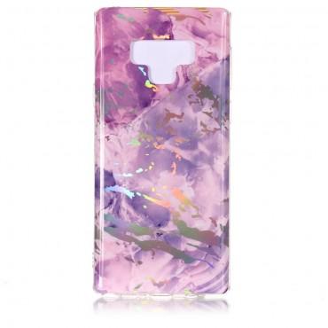 """Módní kryt """"Marble"""" pro Samsung Galaxy Note 9 - růžové"""