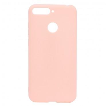 Kryt TPU gel pro Huawei Y7 Prime 2018 / Y7 2018 - růžové